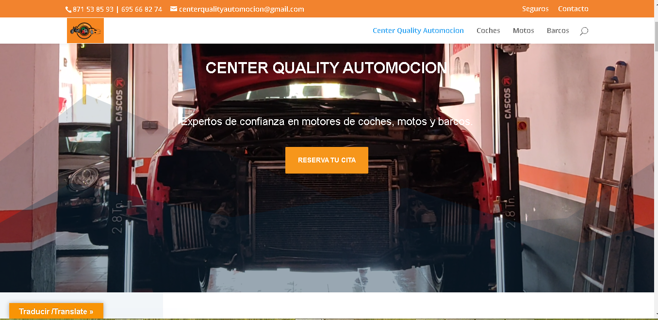 center quality web